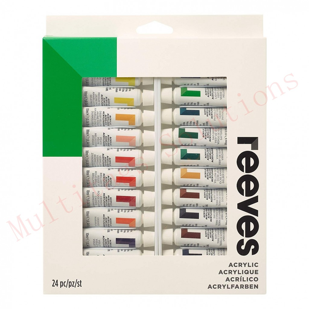Reeves Acrylic Colours Set of 24