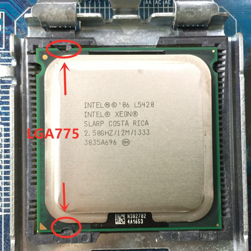 Intel Xeon E5420 CPU 2.5GHz 12M 1333Mhz 80W Processor Work On LGA 775 Motherboard