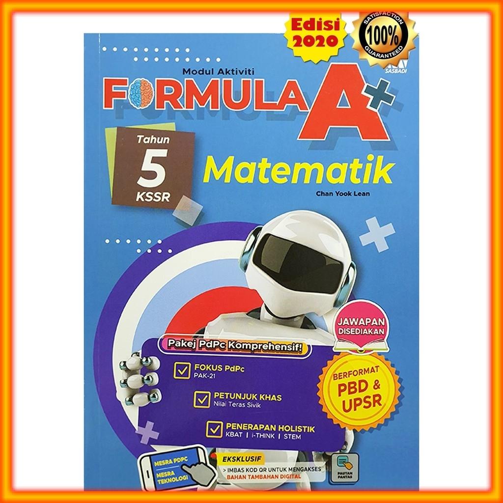 Buku Latihan Formula A Kssr Matematik Tahun 5 Shopee Malaysia