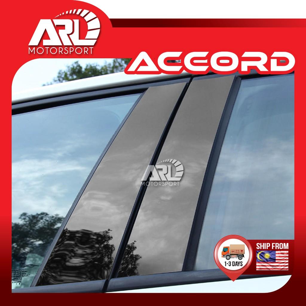 Honda Accord 9th ( 2013 - 2019 ) Door Pillar Dark ( PC ) Car Auto Acccessories ARL Motorsport