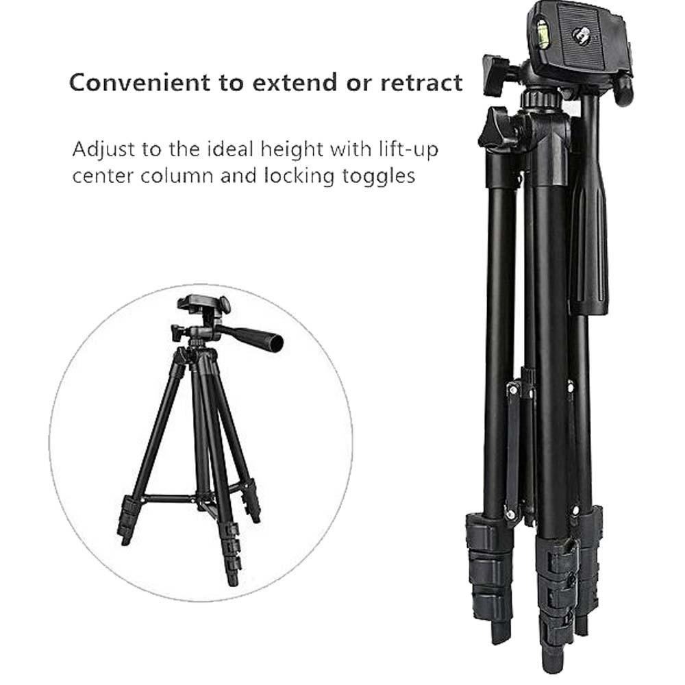 Proocam 3120 camera phone tripod portable with Bluetooth and Mobile holder