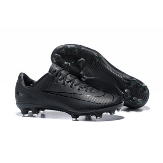 great prices attractive price shades of Nike Mercurial Vapor XI FG Men Cleats Soccer Football Shoes All Black