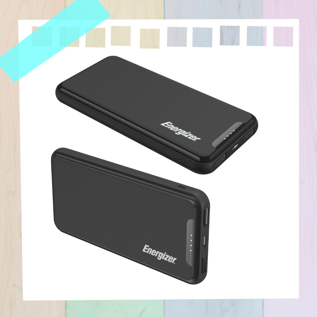 ENERGIZER POWERBANK 10,000mAh UE10052 [ NEW ARRIVAL AND HIGH QUALITY ]