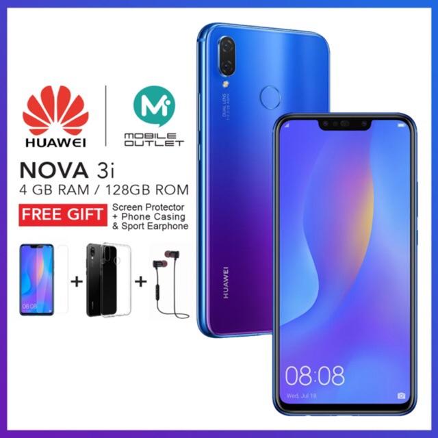 Huawei Nova 3i [4GB/128GB] Original Msia Set