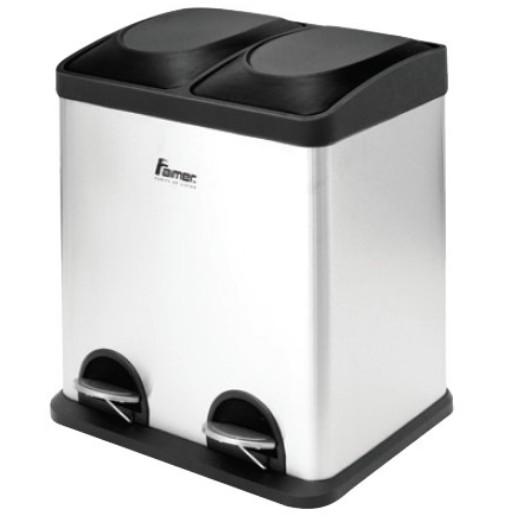 AIMER AMDB-6430 30L Dustbin (2 COMPARTMENTS)