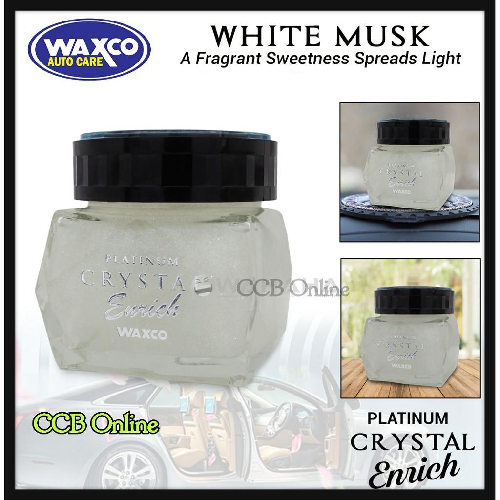 Waxco Car Perfume Platinum Crystal Enrich Shine Black Musk 85ml Kogado Hanging Aromatic Golden Parfum Mobil Shopee Malaysia