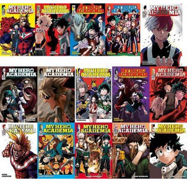Komik boku no hero academia vol 1-17 latest english manga my hero academia
