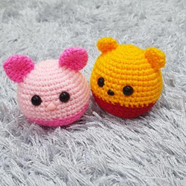 Amigurumi | How to make Winnie The Pooh Tsum Tsum Tutorial - YouTube | 640x640