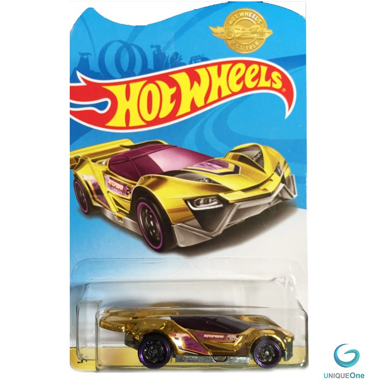 Hot Wheels BLITZSPEEDER Gold limited Edition 1/64 rare