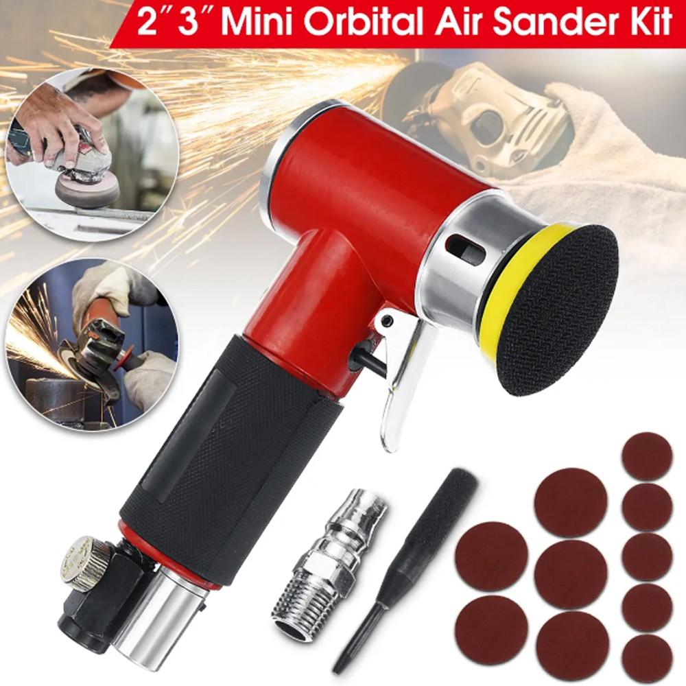 Sanding Machine Pneumatic Orbital High Speed Sander Polisher Various Material