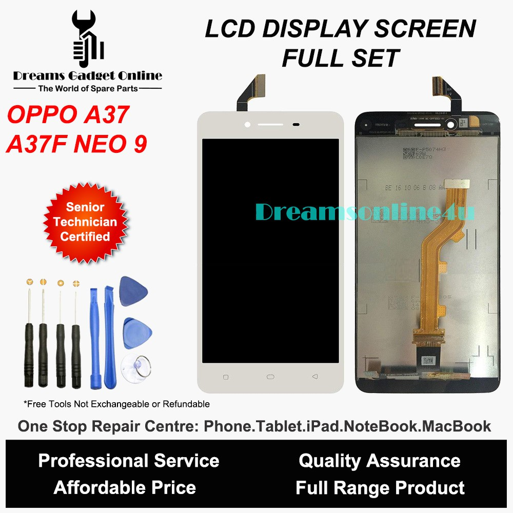 Replacement LCD Touch Screen Digitizer for OPPO Neo 9 A37 A37F Full Set