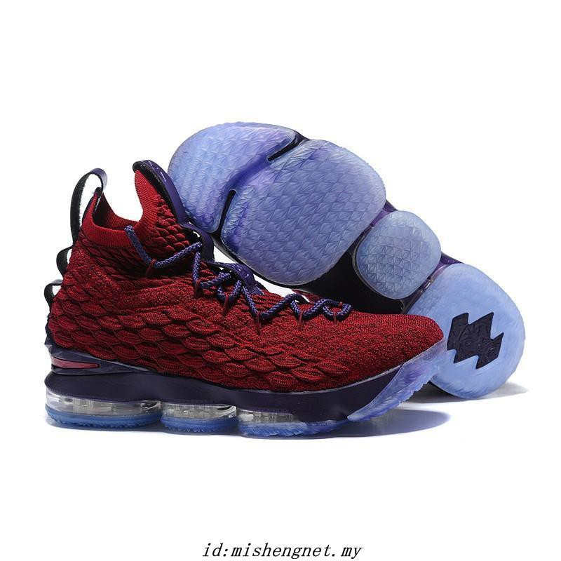 brand new b6c6f b5eba Original NIKE Lebron James 15 High-top Men's Basketball Shoes Sneakers -574