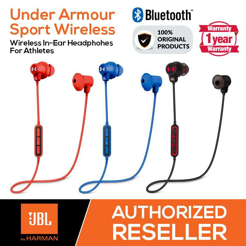c9837ace684 JBL Under Armour Sport Wireless Bluetooth In Ear Headphones For Athletes  Gym | Shopee Malaysia