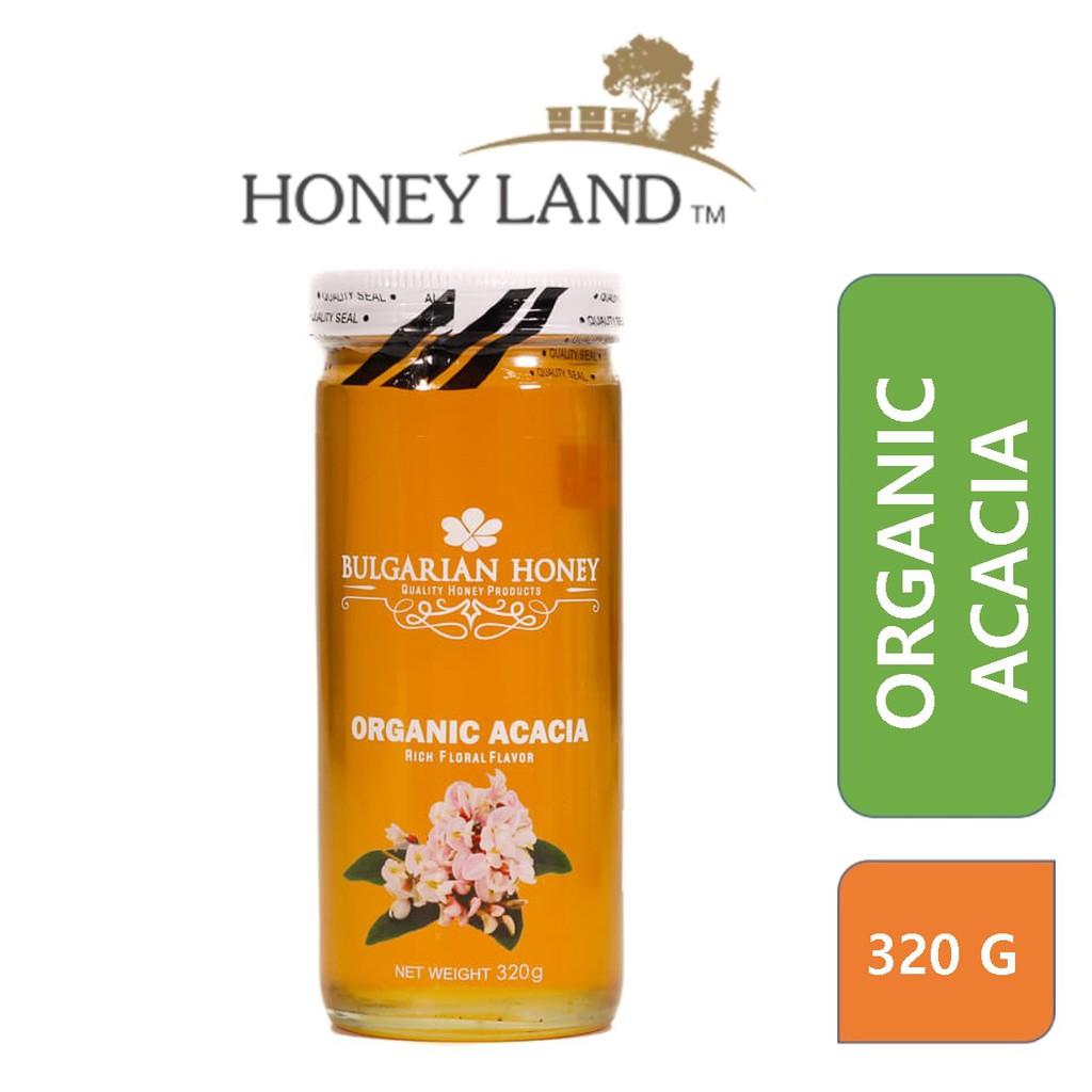 Bulgarian Honey – Organic Acacia Honey (320g) 100% Madu Lebah Asli Organic