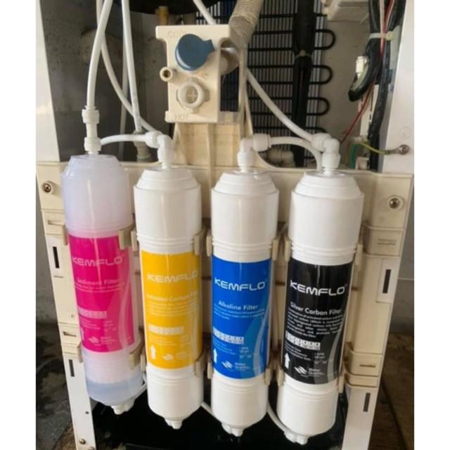 Kemflo Coway Metro Water Filter Cartridges Replacement Alkaline Set