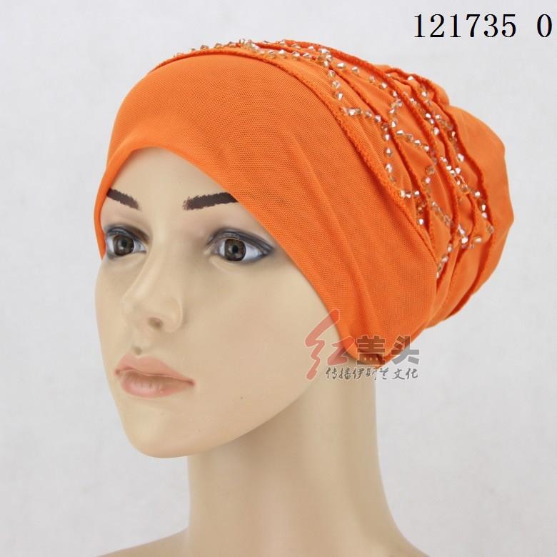 60% de réduction haute couture profiter de prix discount Islamic clothing, Muslim bonnet, double mesh, crystal beaded, Hui people,  hat, t