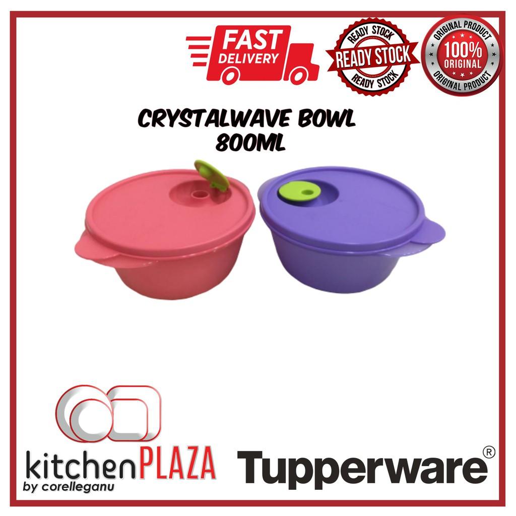 Tupperware CrystalWave Bowl 800ml