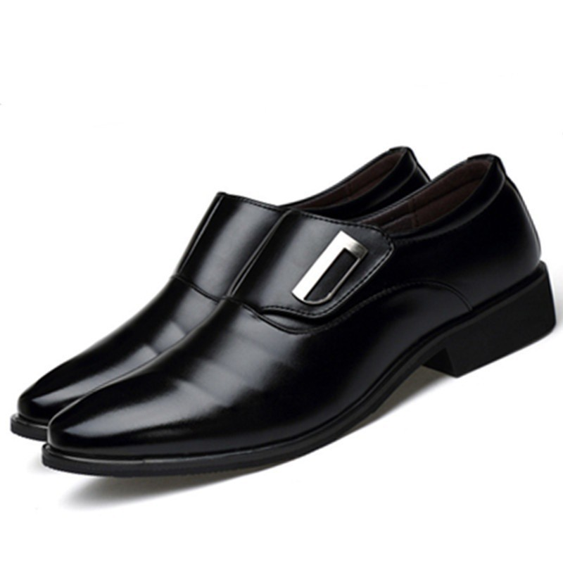 ad7df89527d Men's Fashion Casual Leather Shoes Business Suit Pointed Toe Shoes