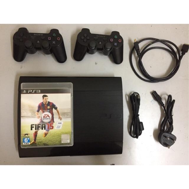 PS3 SUPERSLIM 500GB JAILBREAK PS3XPLOIT HAN(USED SET)