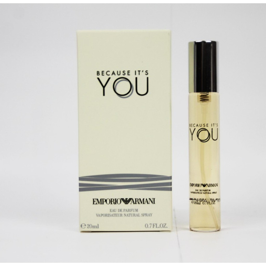 Because Its You Emporio Armani 20ml For Women Shopee Malaysia