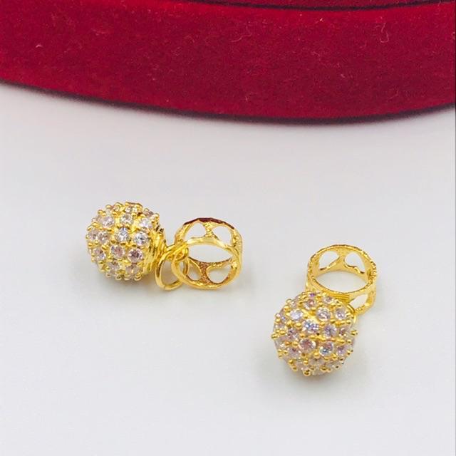 Masdora Emas Charms and Beads ~ Ball Series (Emas 916)