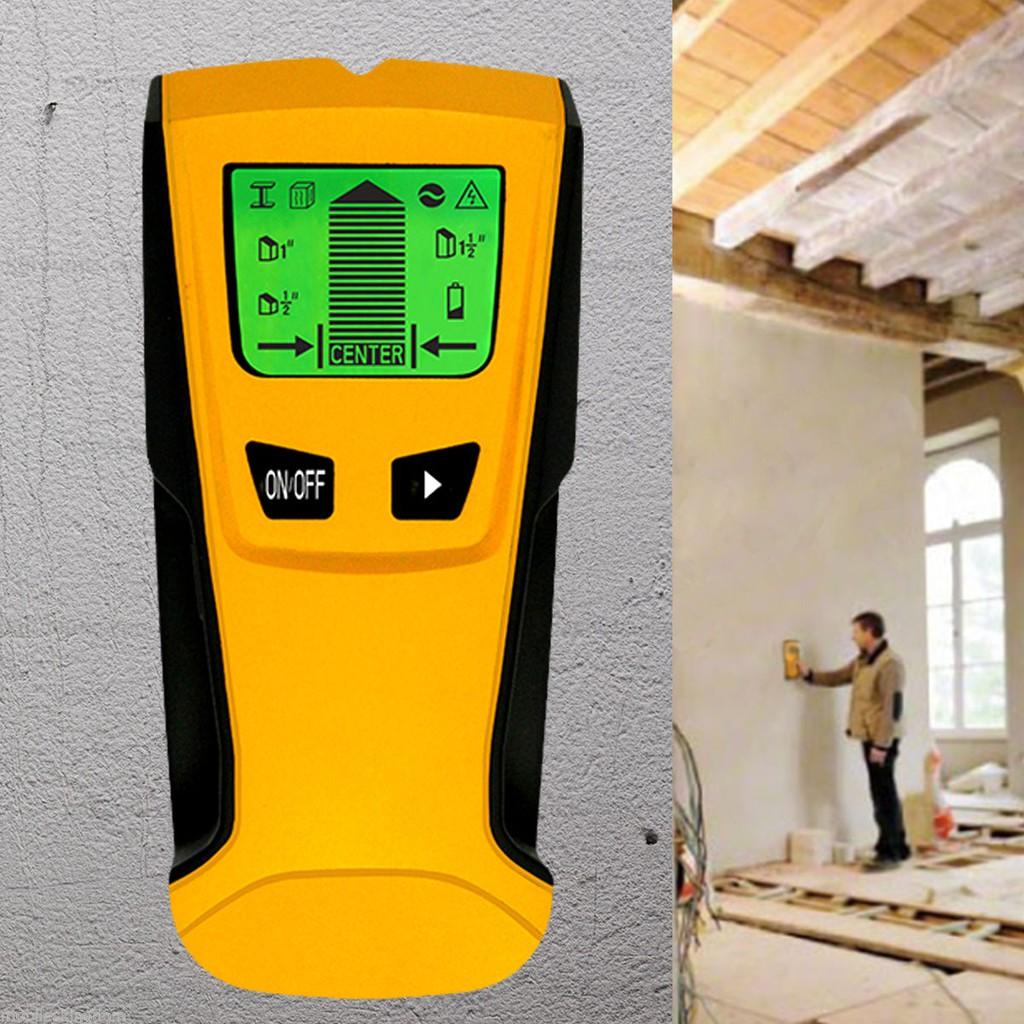Metal Finder Wood Studs Detector AC Voltage Live Wire Detect Wall Scanner