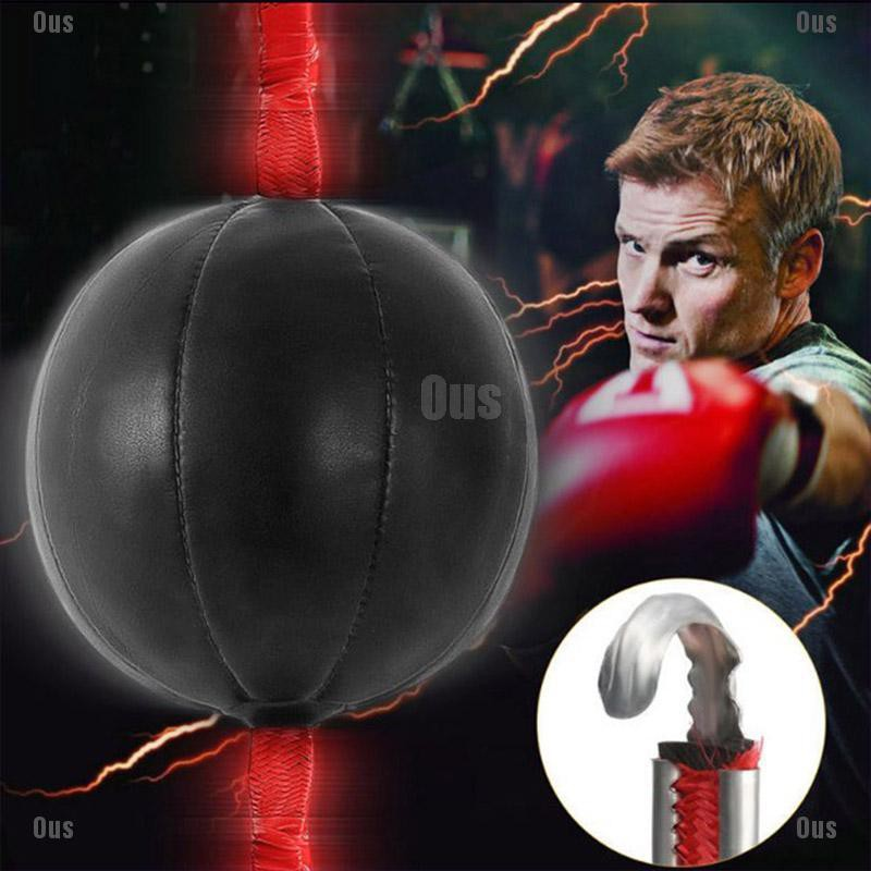 ~Single End MMA Boxing Workout Speedball Speed Training Ball Dodge Punching Ball