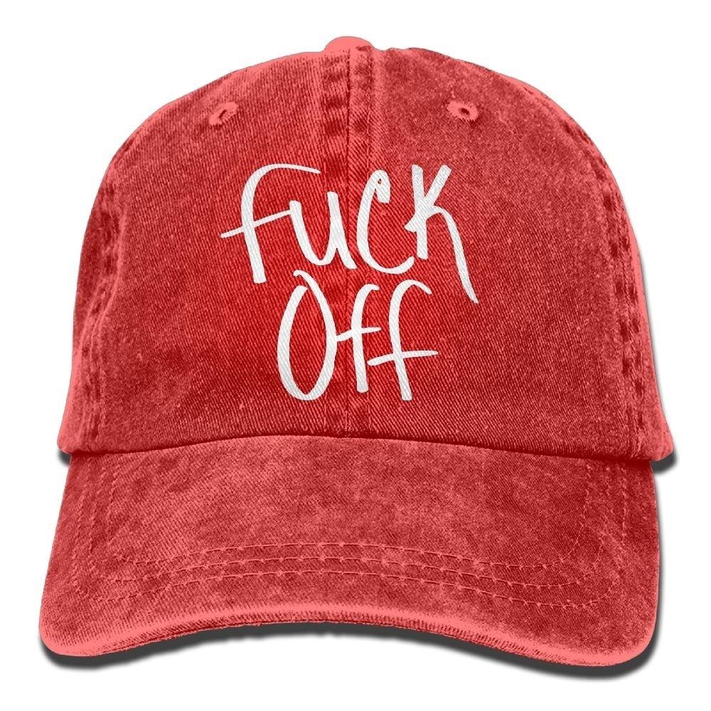 fa69f4e0e Fuck Off Adjustable Hip Pop Cap Snapback Hat Unisex,men And Women