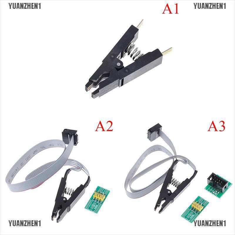 【YUANZHEN1】SOIC8 SOP8 test clip for EEPROM 93CXX/25CXX/24CXX in-circuit program