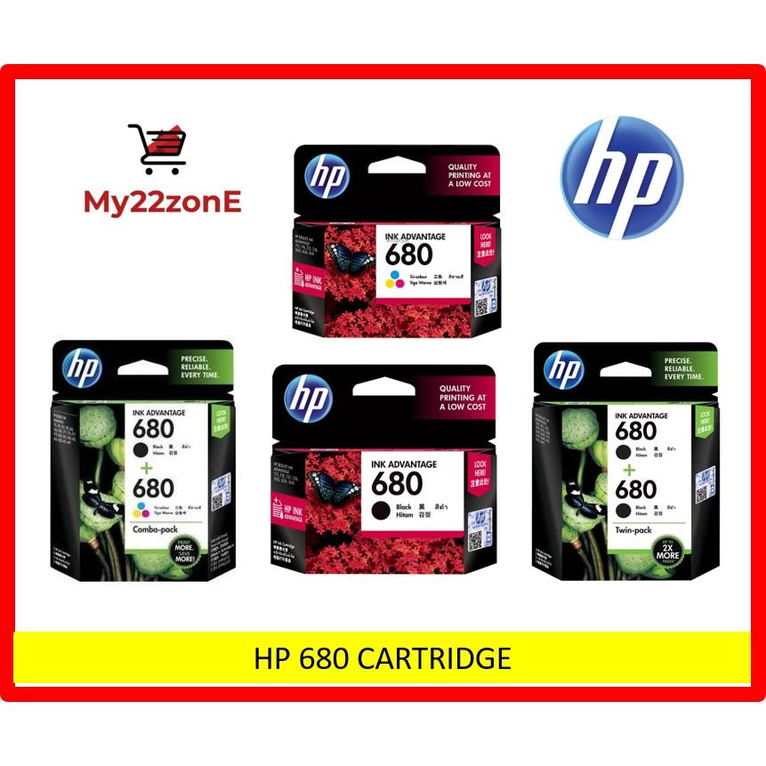 HP 680 INK CARTRIDGE (ORIGINAL)
