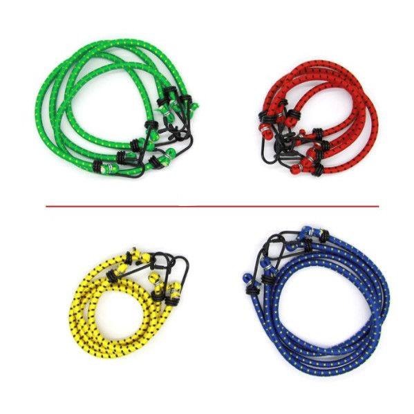 Universal Bungee Cords Bungee Rope Multicoloured Heavy Duty Bungee Rope Elastic Rope With Hooks
