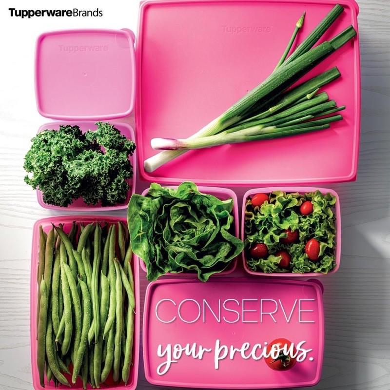 Snowflakes Set promo pink (7pcs) Tupperware