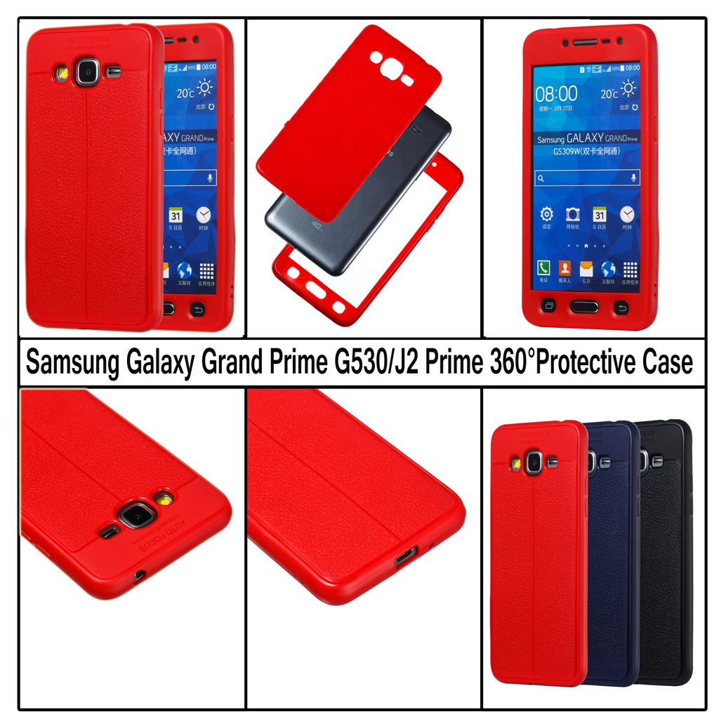 separation shoes bcda5 05403 Galaxy Grand Prime G530/J2 Prime Case 360° Full Protective Rubber Shell  Cover