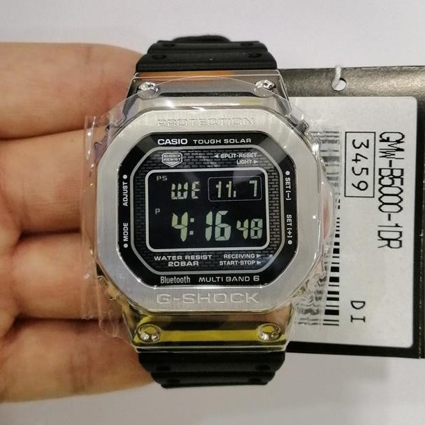 Casio G Shock Bluetooth X Tough Solar Gmw B5000 1d Shopee Malaysia