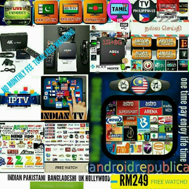 M16 ULTRA HD  64BIT Android tv box HD 4k