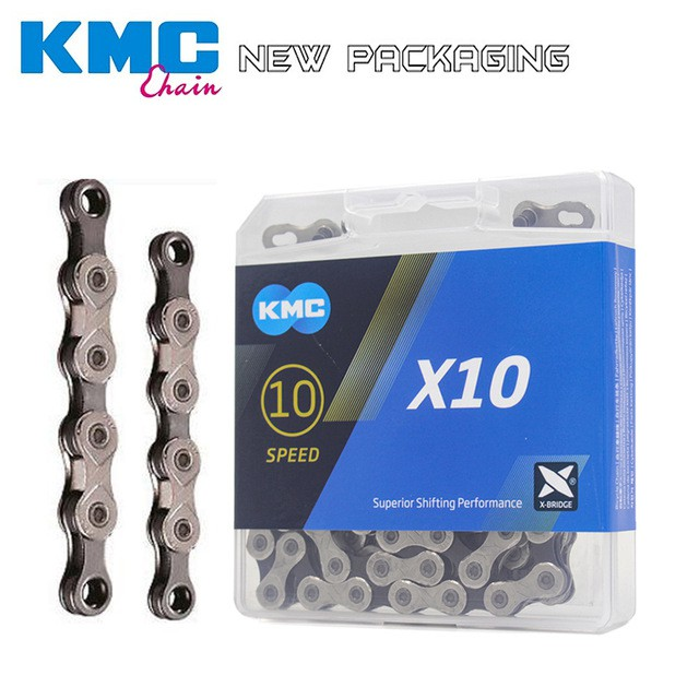 KMC X10.93 Nickel Plated 116 Link 10 Speed Chain