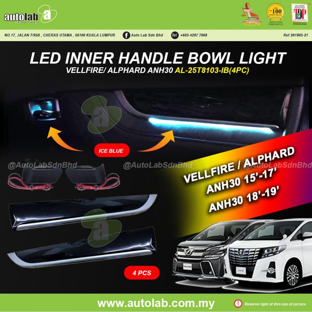 LED Inner Handle Bowl (4pcs) - Toyota Vellfire/Alphard ANH30 2015-2019