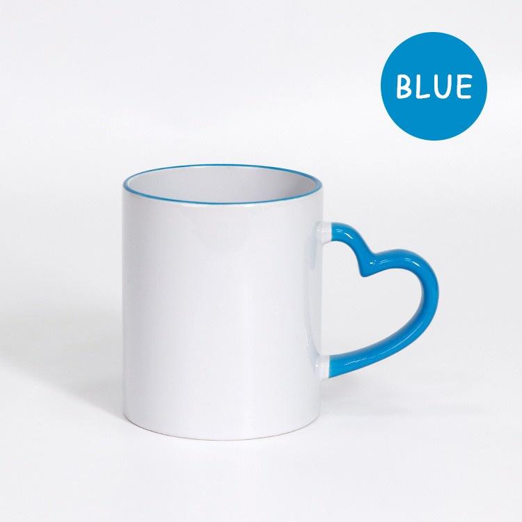 Love handle mug / Mug printing / Customize mug / Gift Mug, Birthday Mug, Couple Mug