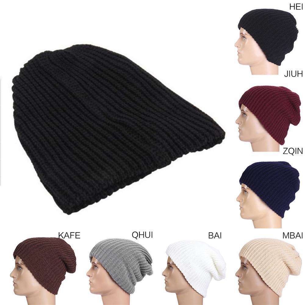 b6906621322 Sunyoo Unisex Winter Reversible Knitted Beanie Hat Baggy Skull cap | Shopee  Malaysia