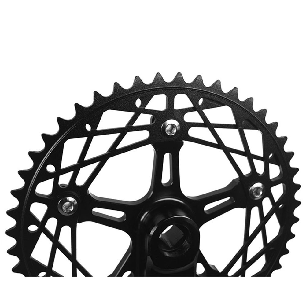 Bike Square Crank set with Chainring for Fix Gear Track Bicycle BCD130mm 48T