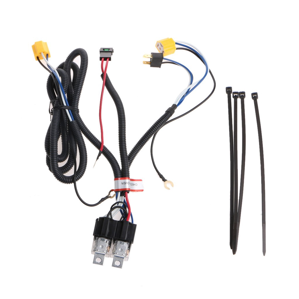 Ceramic H4 H1 H7 Headlamp Brightener Booster Wiring Wira Saga Waja New Headlight Bulb Male Wire Harness Connector Plug Socket Kancil Toyota Shopee Malaysia