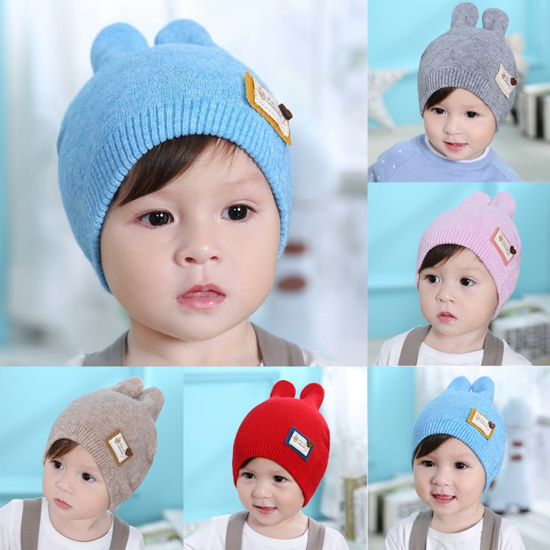 Costumes & Accessories Novelty & Special Use Hard-Working Baby Boys Girl Rabbit Bunny Ears Hat Toddler Crochet Knitted Earflap Hat Warm Cap Cosplay Rabbit Bunny Hat Child Cosplay Gift Latest Fashion