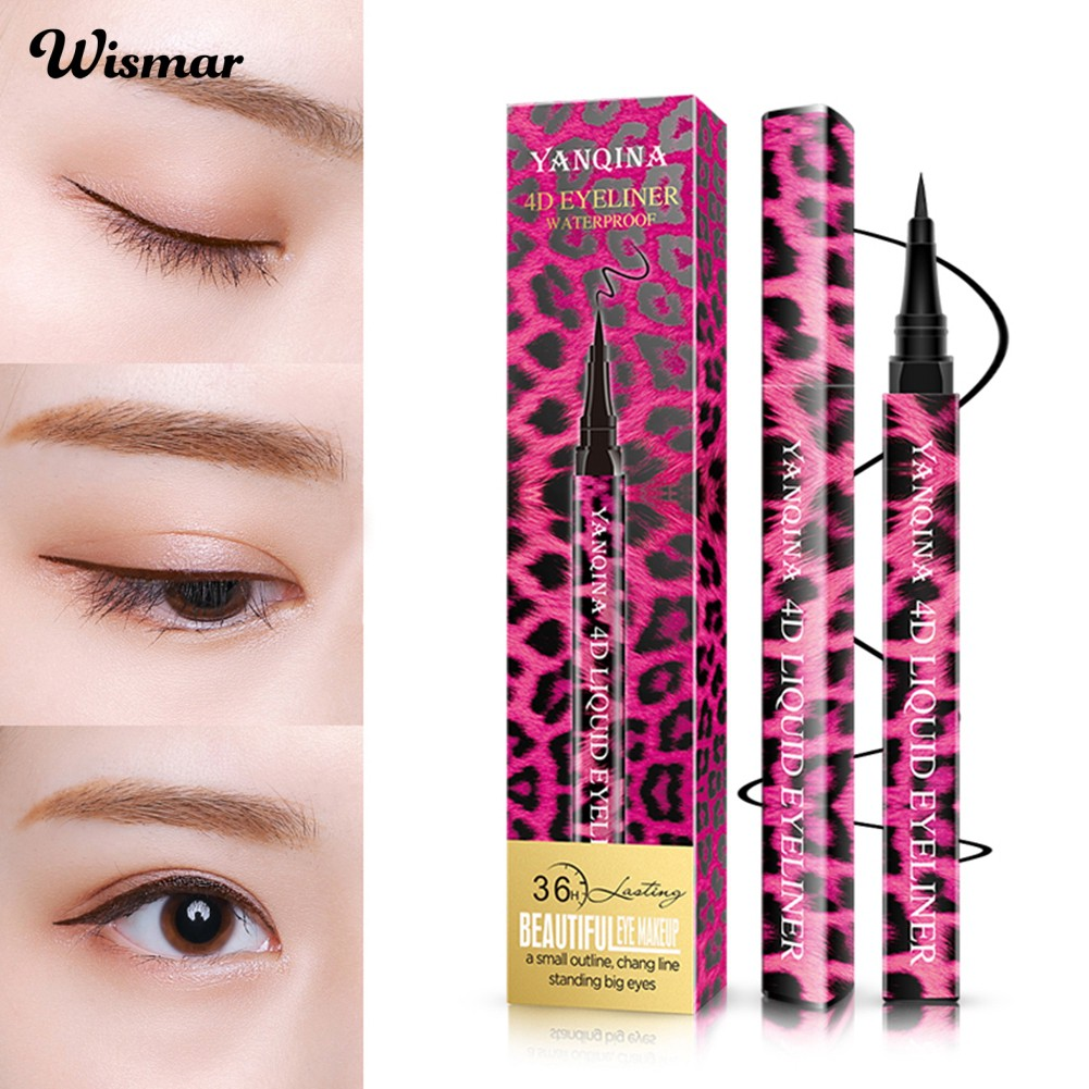 (in stock) Waterproof Liquid Eyeliner Pencil Fast Dry Non Smudge Long Lasting