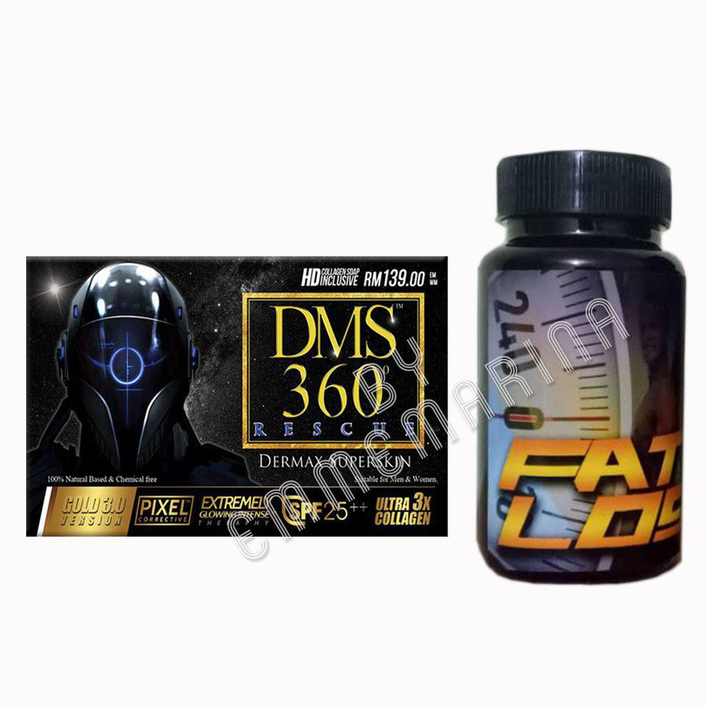 [READYSTOK + FREEGIFT + COMBO SET] DMS Rescue & Fat Loss Sliming and Beauty Package Combo