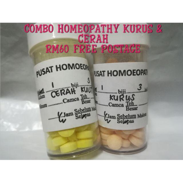 COMBO HOMEOPATHY KURUS & CERAH KULIT