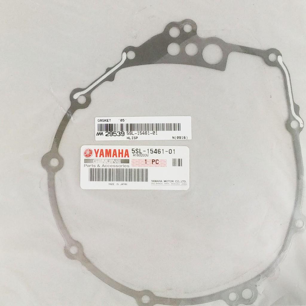 Crankcase Cover 2; New # 5SL-15461-01-00 Made by Yamaha Yamaha 5SL-15461-00-00 Gasket