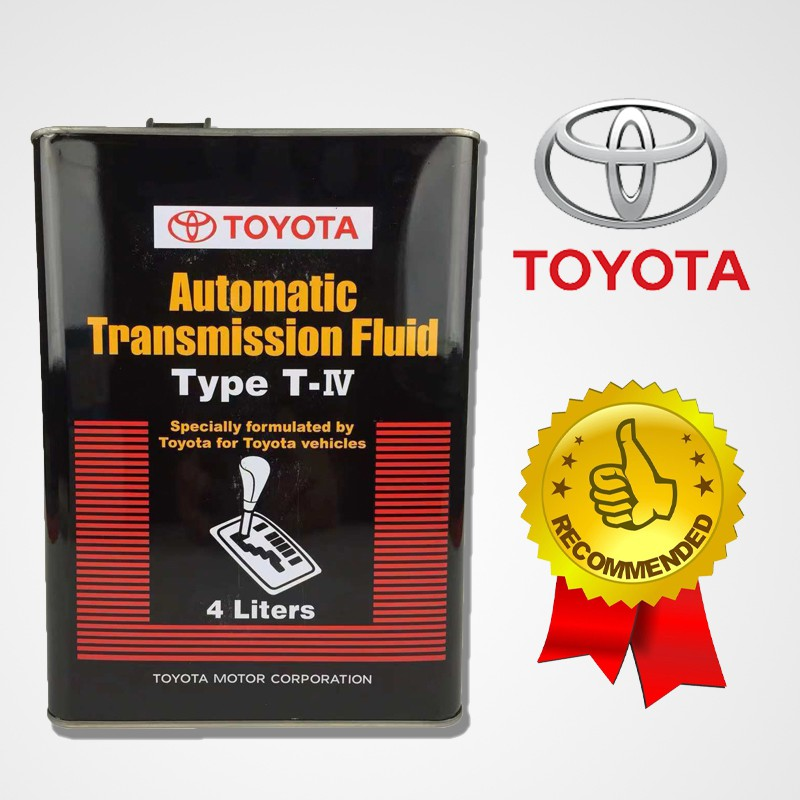 Toyota Automatic Transmission Fluid ATF Type T-IV (4L)