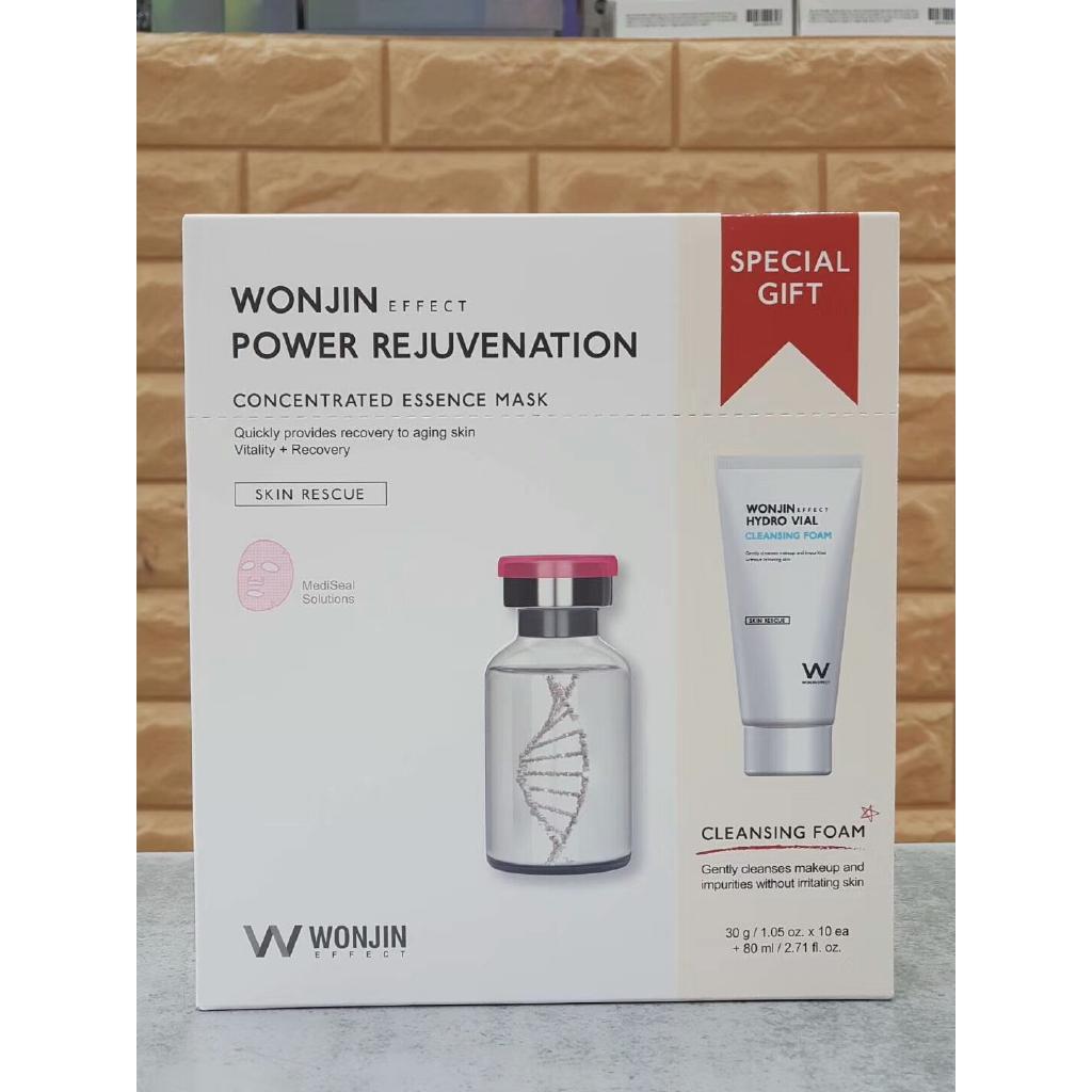(READY STOCK) Wonjin Mask 10s Free Cleansing Foam 80ml