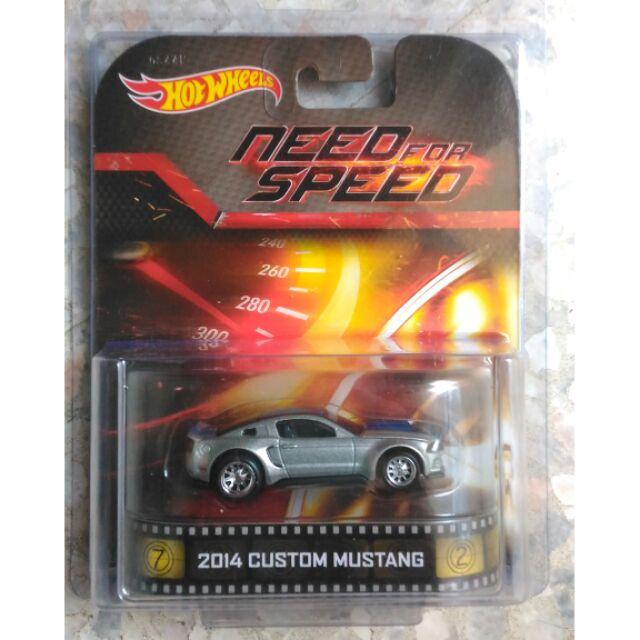 Hot Wheels Hotwheels Retro Need For Speed Ford Mustang Custom Shopee Malaysia