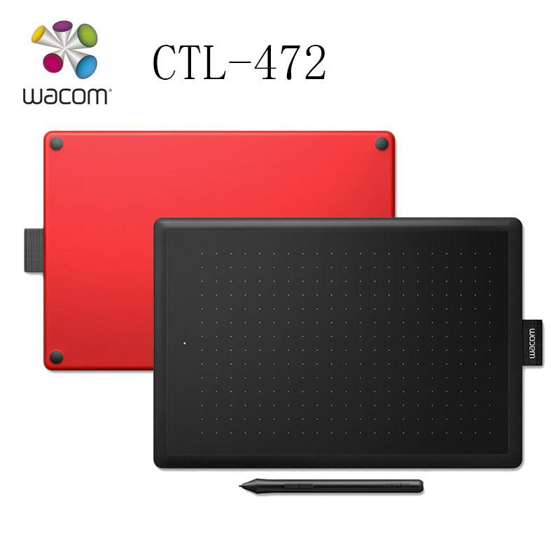 One by Wacom CTL-472 Digital Graphic Drawing Tablet Pad 2048